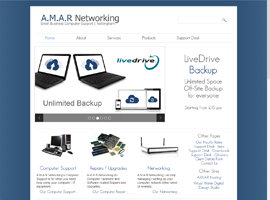 Nottingham Digital Design's Recent Work A.M.A.R Networking